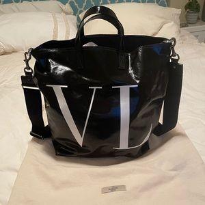 Black Valentino Tote Bag